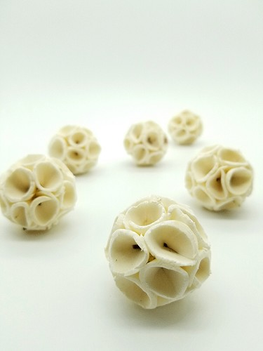 Mini curly wurly sola balls - set of 3